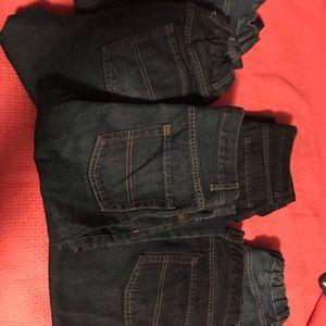 Children's place boys size 16 slim jeans